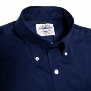 Heavy Twill Ivy Shirt - Navy 2